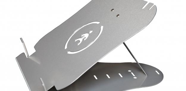 Flexibele laptopstandaard voor thuiswerken